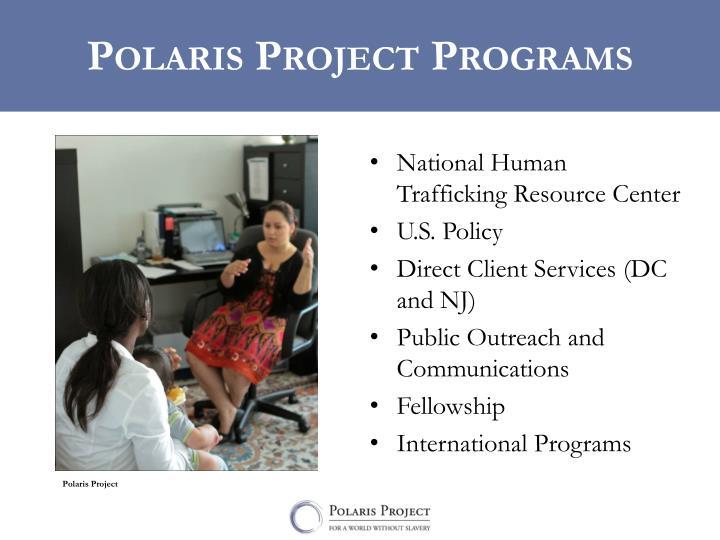 Polaris project programs
