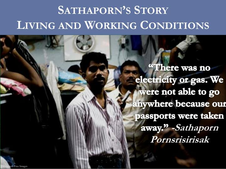 Sathaporn's Story