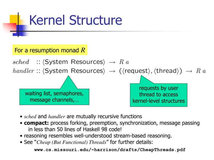 Kernel Structure