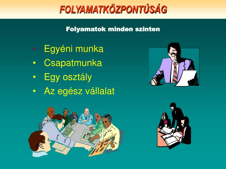 FOLYAMATKÖZPONTÚSÁG