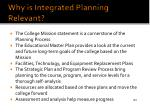 why is integrated planning relevant
