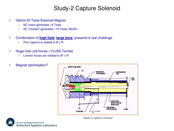 Study 2 capture solenoid