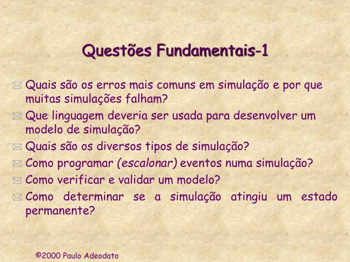 Quest es fundamentais 1