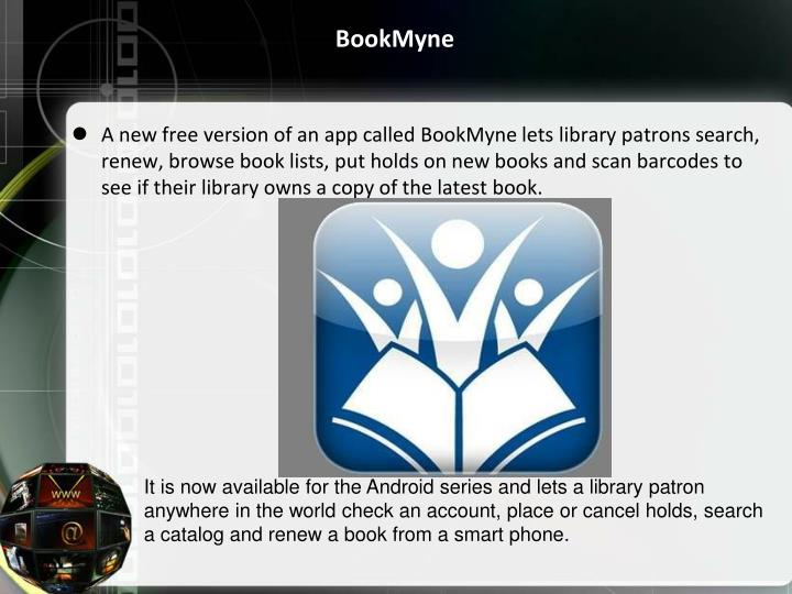 BookMyne