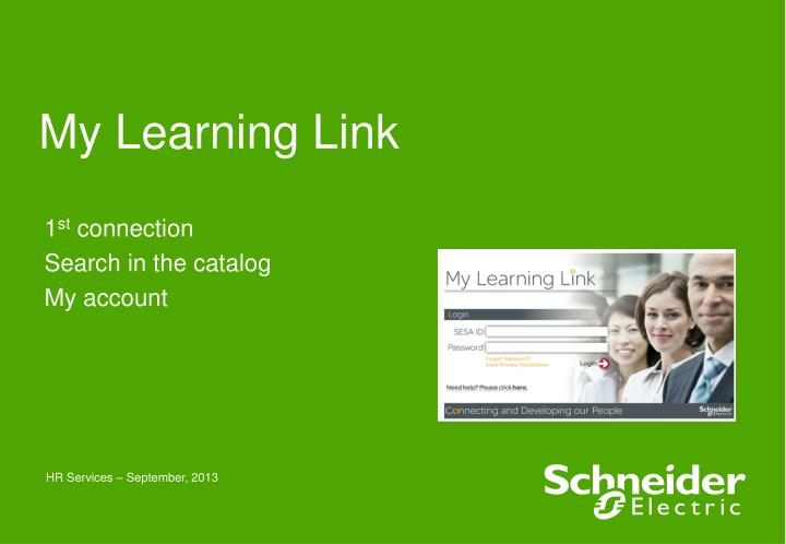 my learning link n.