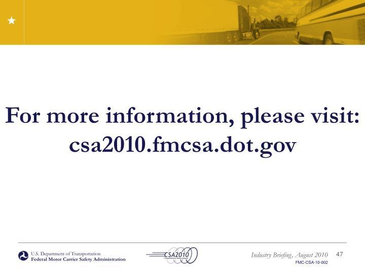 Ppt U S Department Of Transportation Federal Motor