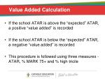 value added calculation1