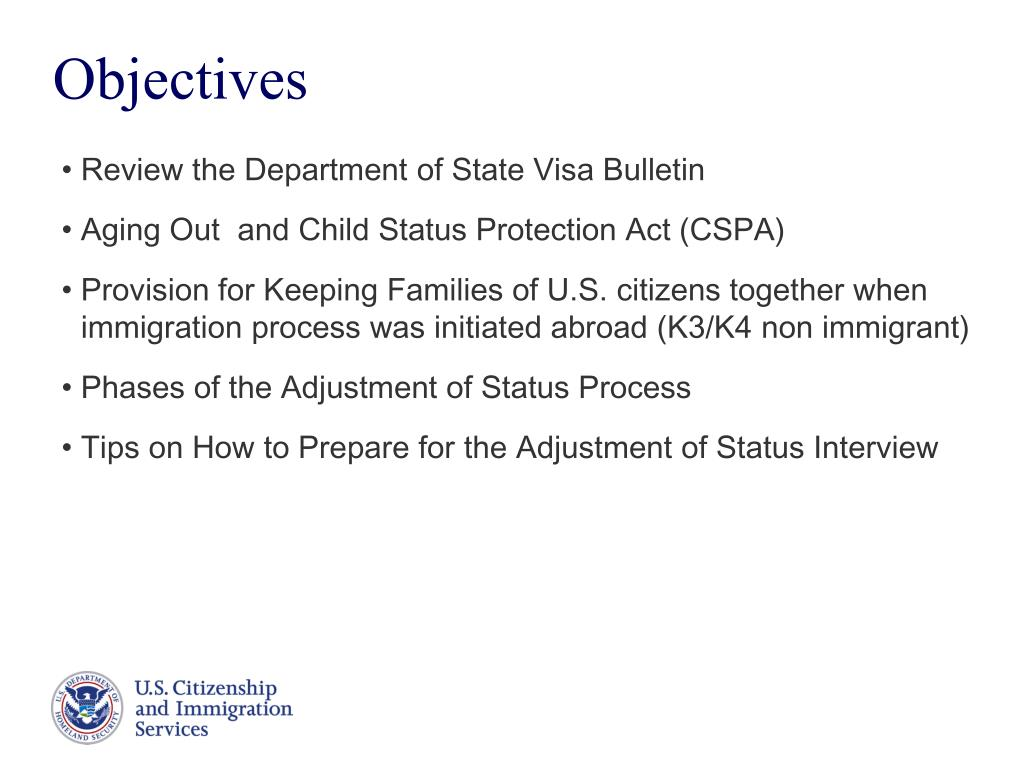 PPT - Family-Based Adjustment of Status PowerPoint