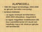 alapmodell