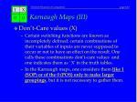 karnaugh maps iii