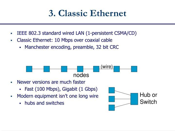 3. Classic Ethernet