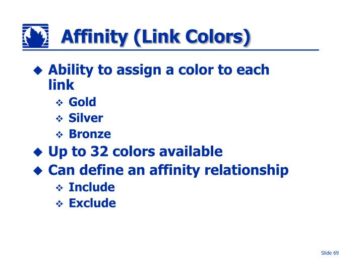 Affinity (Link Colors)