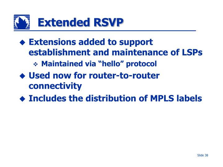 Extended RSVP