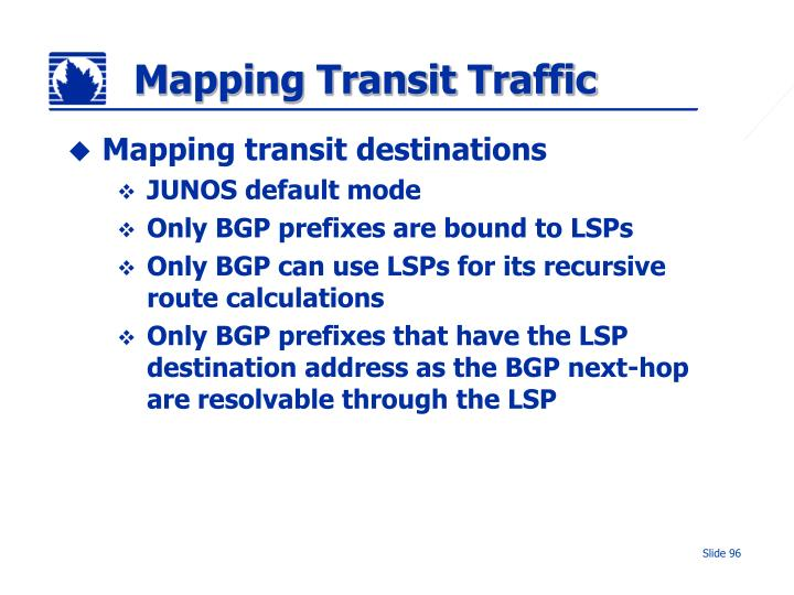 Mapping Transit Traffic