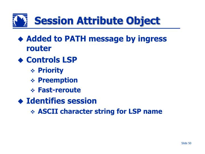 Session Attribute Object