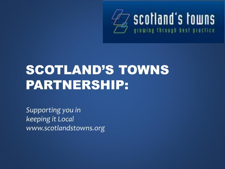 scotland s towns partnership n.