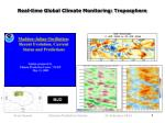 real time global climate monitoring troposphere1