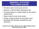 memorial activities following suicide2