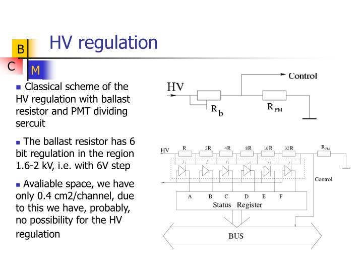 HV regulation