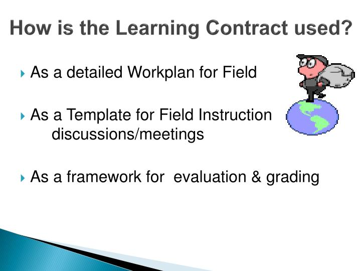 Ppt  Learning Contract Tutorial Powerpoint Presentation  Id