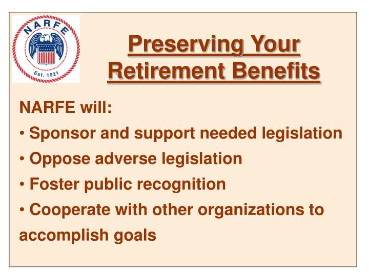 Preserving Your Retirement Benefits
