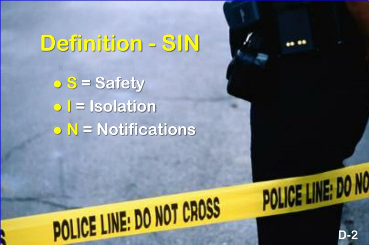 Definition - SIN