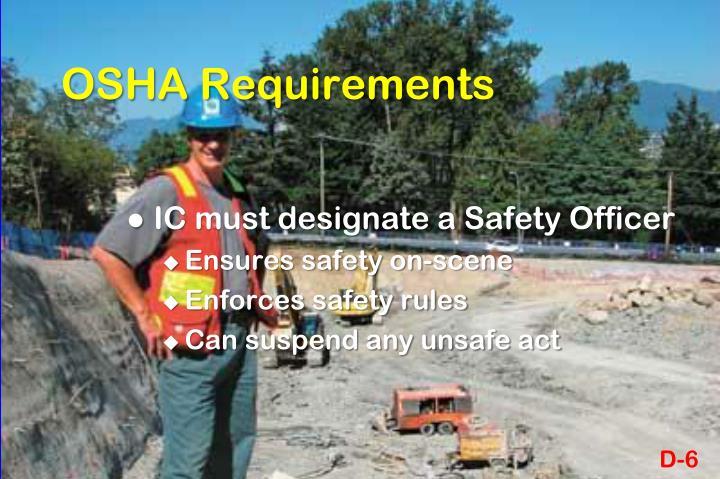 OSHA Requirements