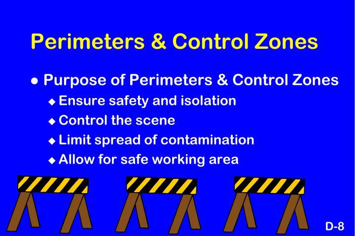 Perimeters & Control Zones