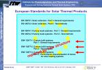 european standards for solar thermal products2