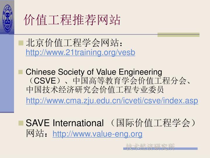 价值工程推荐网站