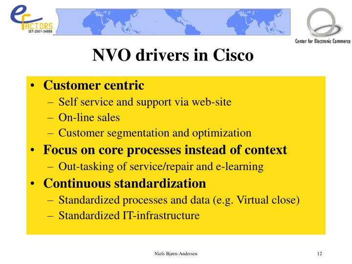 NVO drivers in Cisco