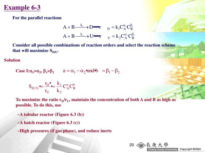 Example 6-3