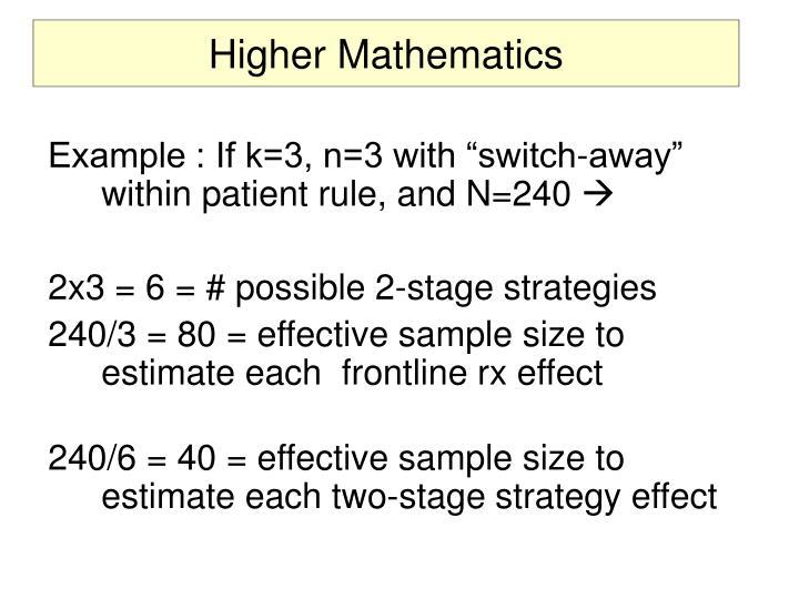 Higher Mathematics