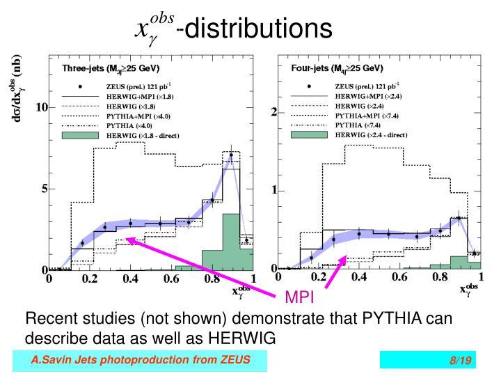 -distributions