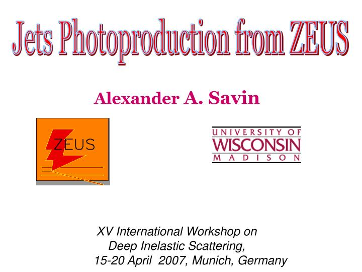 Jets Photoproduction from ZEUS