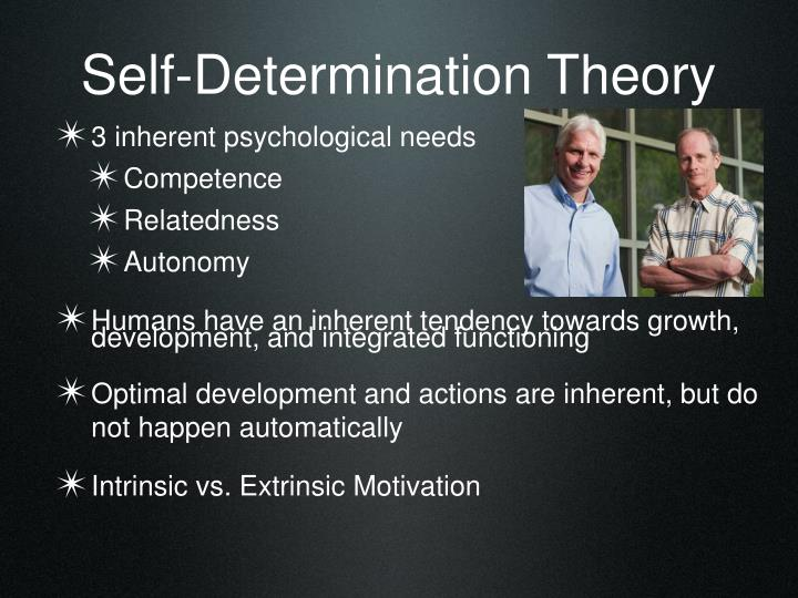exercise psychology and self determination theory Exercise psychology and self-determination theory exercise psychology is defined as the study of psychological factors underlying participation and adherence in physical activity programs (anshel, 1948).