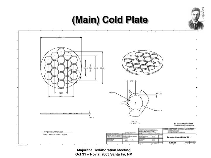 (Main) Cold Plate