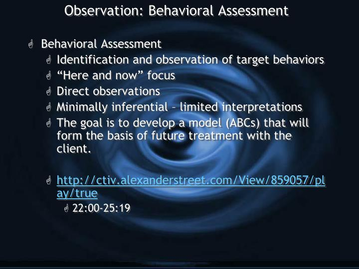 behavioral observation project The brazelton institute is a training institute for clinicians and researchers, which provides training on the neonatal behavioral assessment scale (nbas) and the newborn behavioral observations (nbo) system.