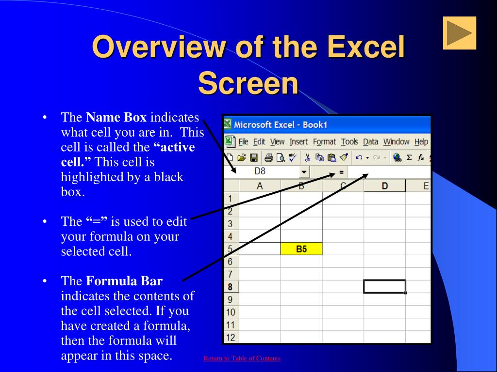 PPT - Microsoft Excel (97-2000-XP-2003) PowerPoint