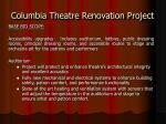 columbia theatre renovation project3