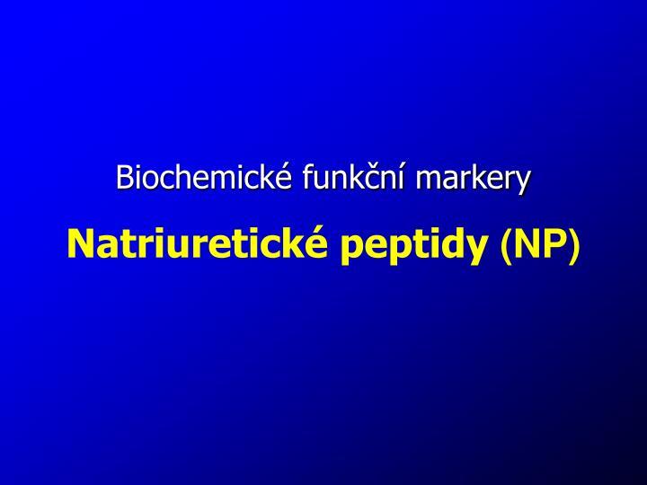 Biochemické funkční markery