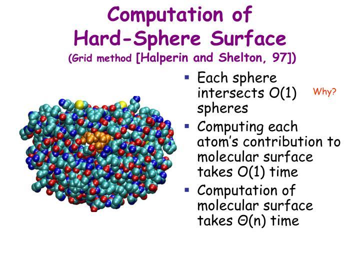Computation of