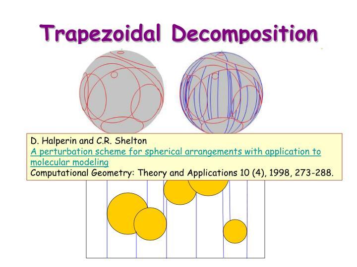 Trapezoidal Decomposition