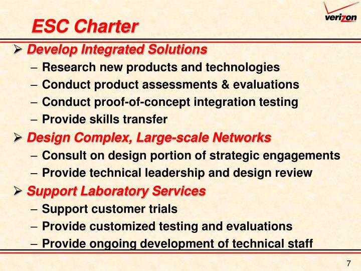 ESC Charter