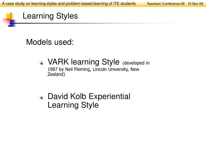 VARK learning Style