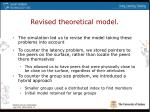 revised theoretical model