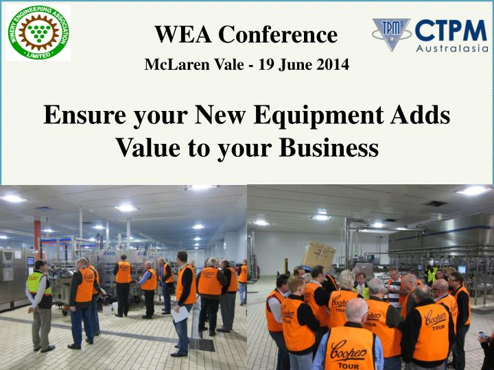 WEA Conference