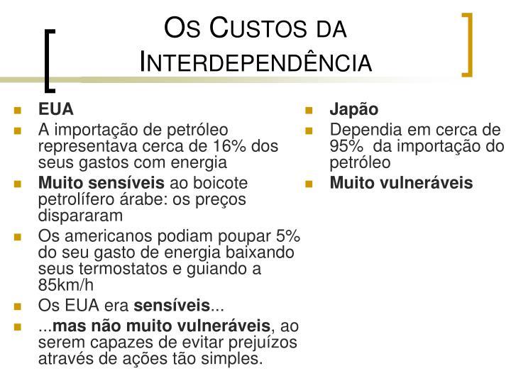 Os Custos da Interdependência