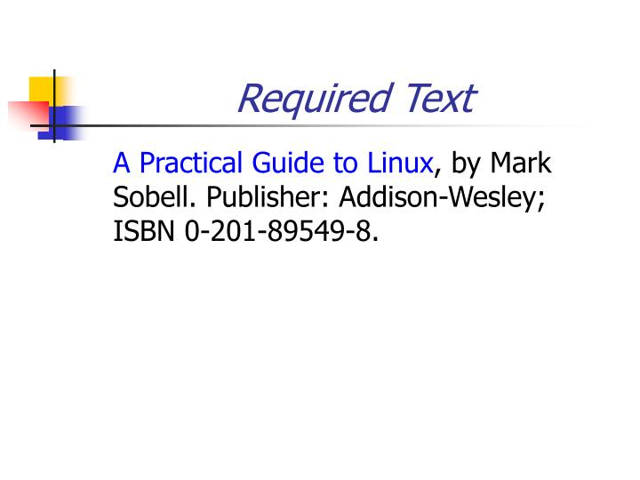 Required Text