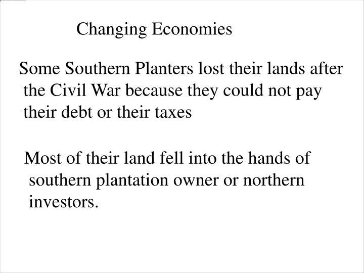 Changing Economies